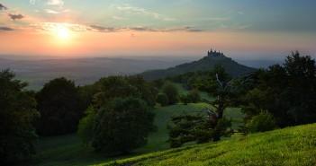 Albsteig und die Burg Hohenzollern