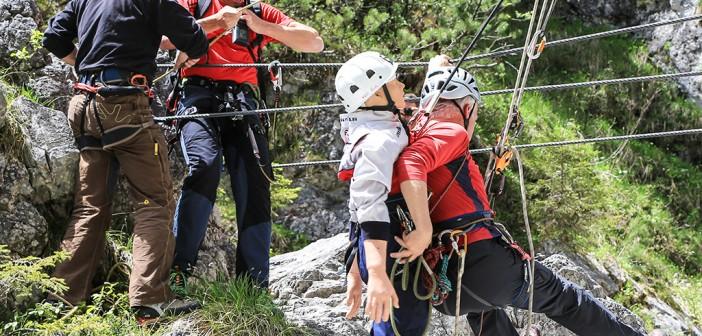 Klettersteig und Sicherheit
