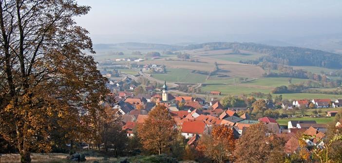 Tannesberg im Herbst