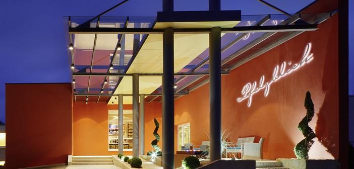 Wellnesshotel Pfalzblick – im Frühjahr trägt die Pfalz rosa