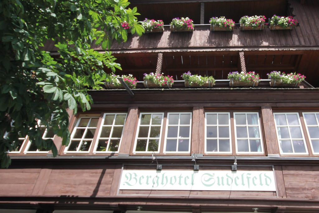 Sommer Berghotel Sudelfeld