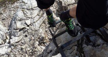 Sextener Dolomiten Rotwand Klettersteig