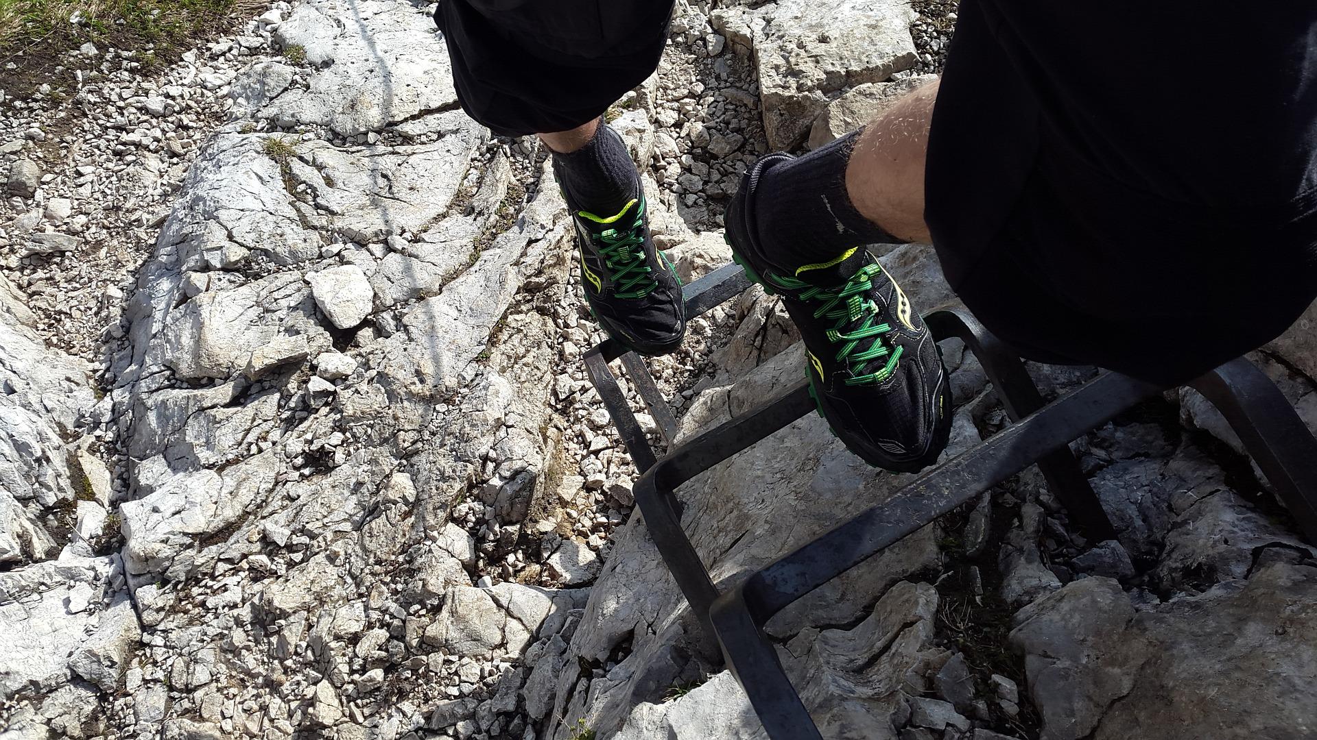 Klettersteig Zauchensee : Via ferrata on ice st anton arlberg rendl klettersteig