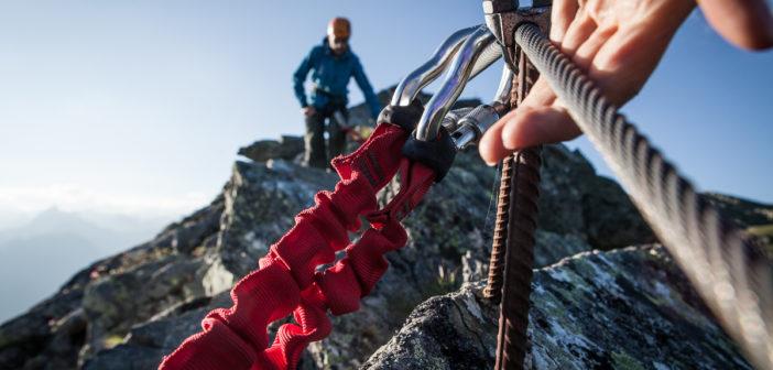 Der Klettersteig Kälbersee im Montafon
