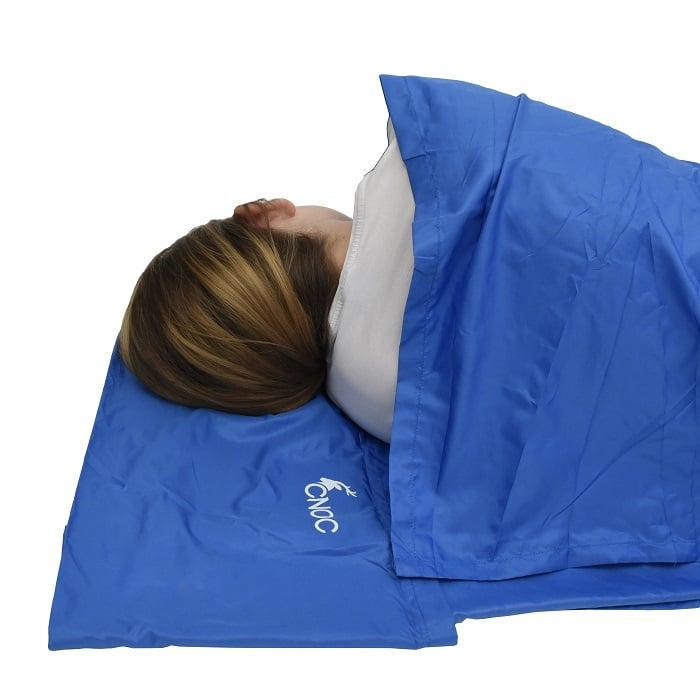CNOC Hüttenschlafsack Kinder Test